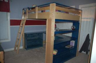 Loft Bed Plans Twin Diy Blueprints