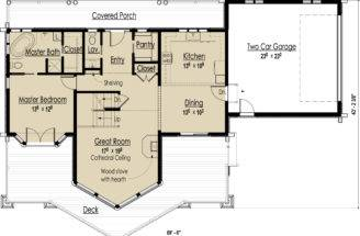 Log Home Design Plans Designs Floor