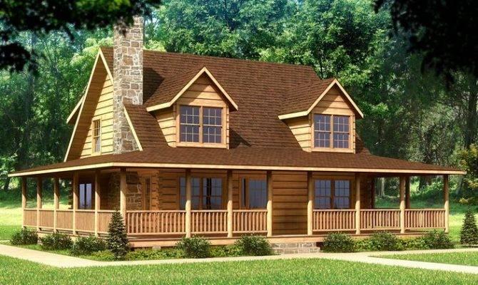Log Home Plans Beaufort Plan Homes House