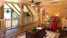 Log Home Plans Loft Tour