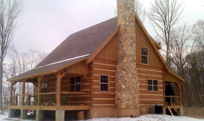 Log Home Timber Frame Construction Cabin