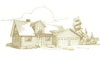 Log Homes Floorplan Details Hochstetler Milling