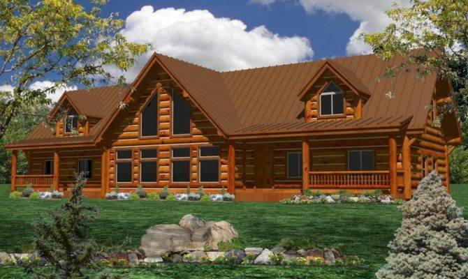 Log Homes Home Floorplans Plans