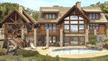 Log Homes Timber Hybrid Floor Plans Claire