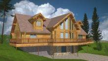 Log Style House Plans Home Designs