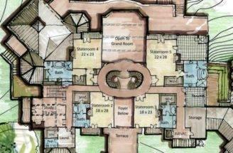 Lolek House Plan Castle Second Floor