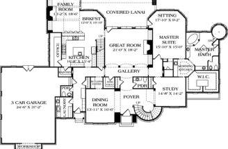 Luxury Home Floor Plans Designs Pin Pinterest