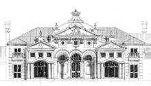 Luxury Home Plans European French Castles Villa Mansion Houses