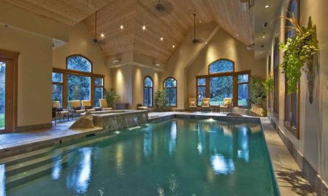 Luxury Home Plans Indoor Pool