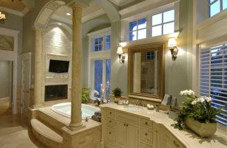 Luxury House Plan Master Bathroom