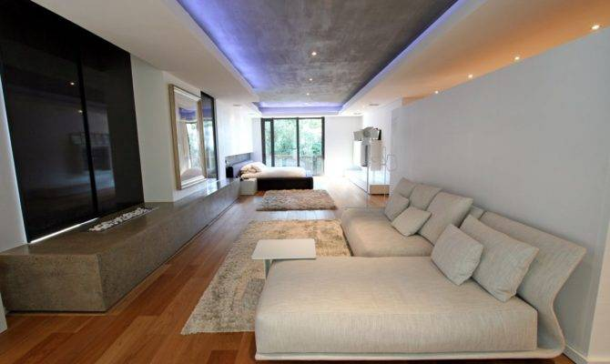 Luxury Large Contemporary House Bedroom Home Building