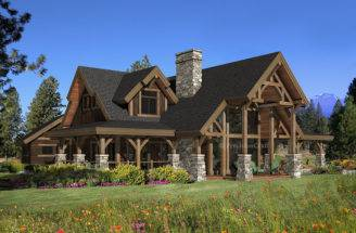 Luxury Timber Frame House Plans Home Design
