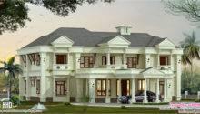 Luxury Villa Elevation Design Kerala Home Floor Plans