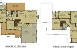Madison Farmhouse Floor Plans House Pinterest