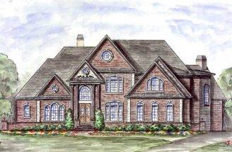 Majestic Master Down House Plan Floor Suite