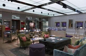 Malmaison Hour Glass Knightsbridge Most Beautiful Store