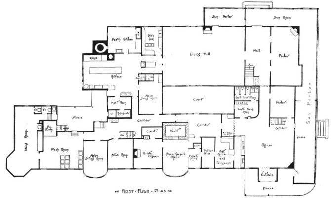 Mansion Floor Plans Model Modern Home Designs