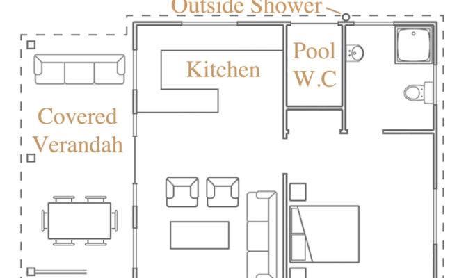 Mansion Floor Plans Pool House Plan