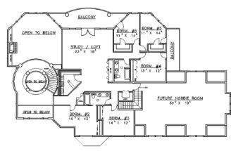 Mansions More Contemporary Mansion Floor Plans