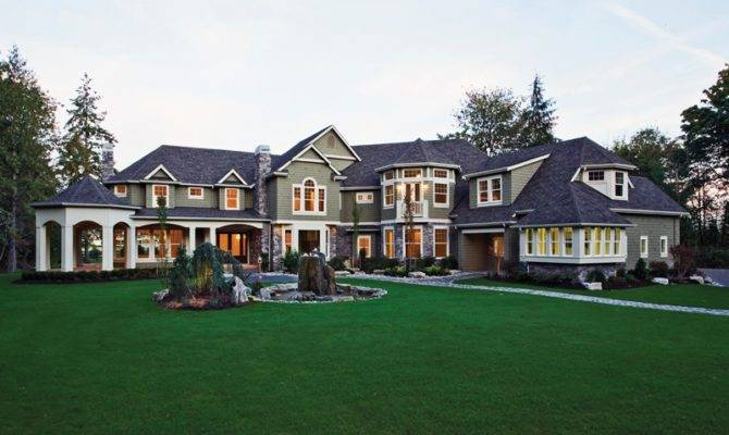Mansions Plans Dream House Luxury Home