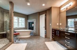 Master Bathroom Floor Plans Large Room Design