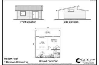 Meadow Lea Bedroom Granny Flat Kit Home Homes
