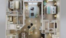 Measuring Square Feet Rich Two Bedroom Apartment