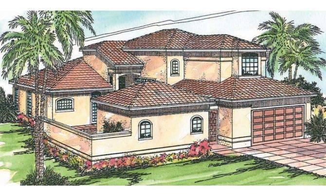 Mediterranean House Plans Coronado Associated Designs