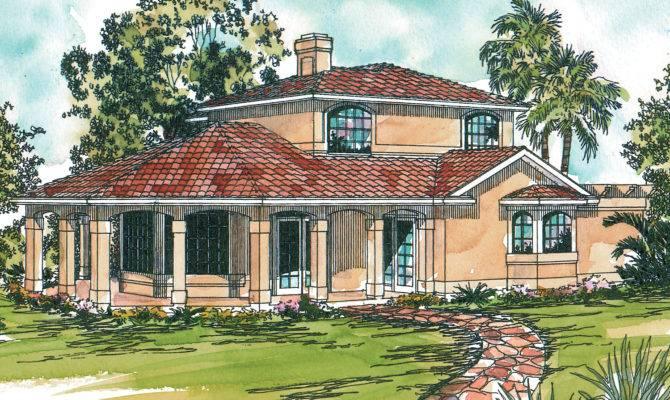 Mediterranean House Plans Lauderdale Associated Designs