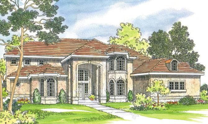 Mediterranean House Plans Lucardo Associated Designs