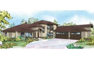 Mediterranean House Plans Pasadena Associated Designs