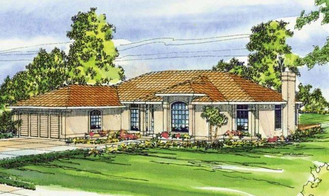 Mediterranean House Plans Plainview Associated Designs