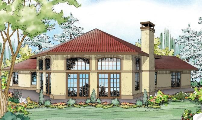 Mediterranean House Plans Rosabella Associated Designs