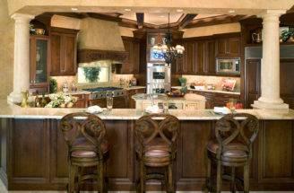 Mediterranean Kitchen Sater Design Collection Inc