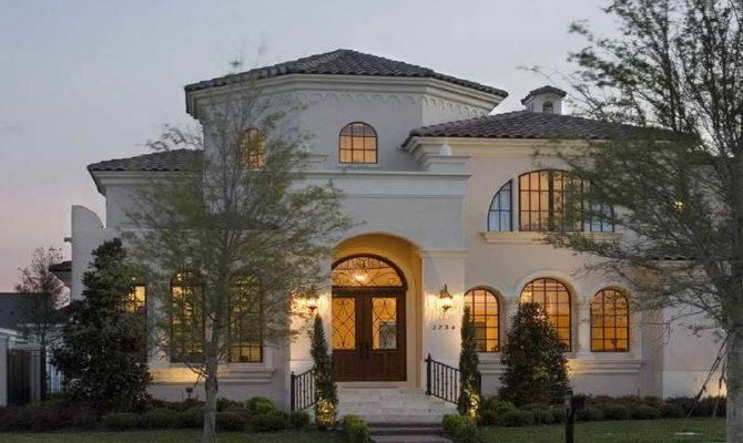 Mediterranean Luxury Small Home Plans