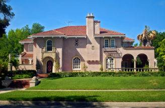 Mediterranean Style House Elizabeth Blvd Ryan Place Flickr