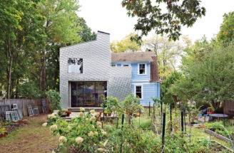 Metal Shingle House Connecticut Architect Elijah Huge Reinke Shakes