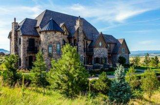 Million English Tudor Style Brick Stone Mansion Littleton