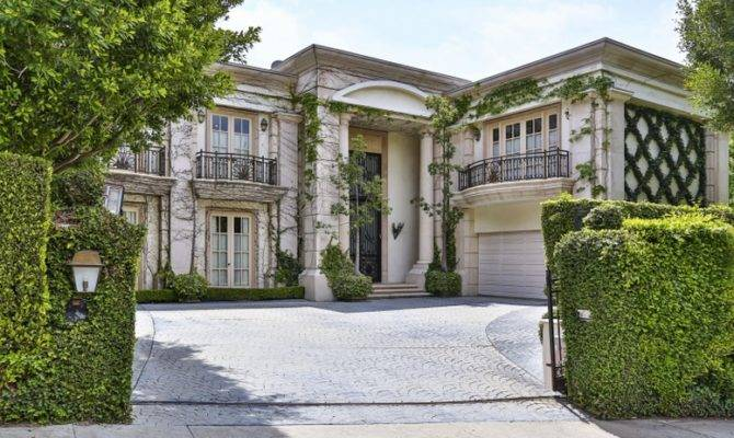 Million Neoclassical Mansion Beverly Hills Homes