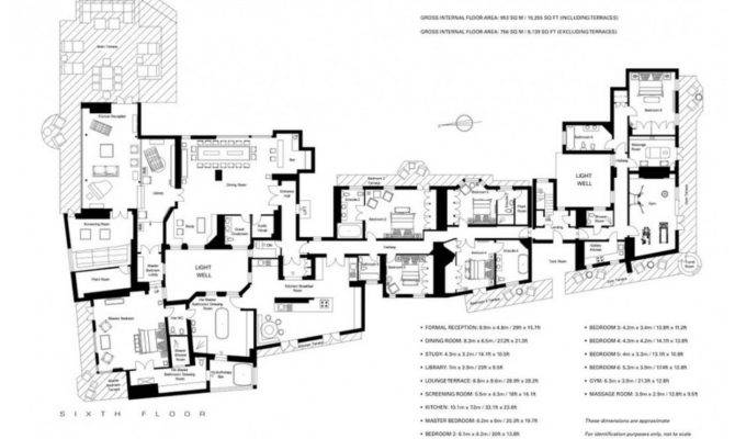 Million Square Foot Penthouse London England Homes