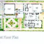 Mission Canyon Heights Residence Santa Barbara First Floor Plan