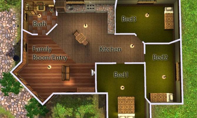 Mod Sims Corner Lot Starter