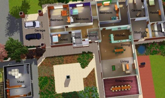 Mod Sims Real Life House