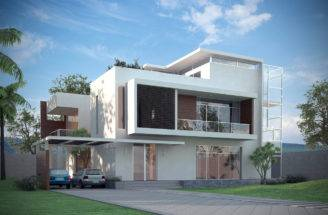 Models Luxury Contemporary House Model Max Obj Cgtrader