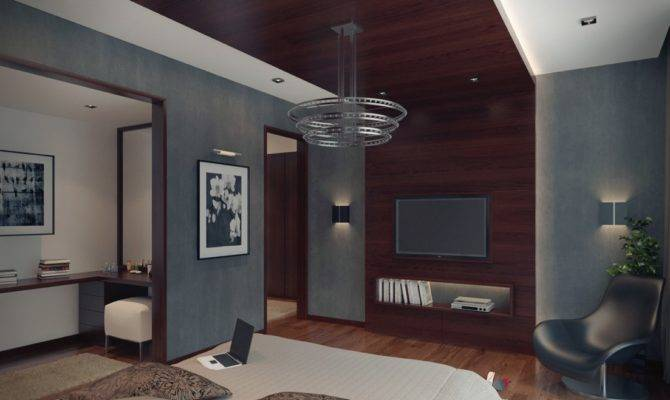 Modern Apartment Bedroom Interior Design Ideas
