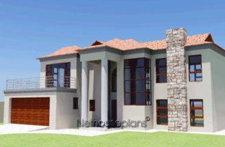Modern Bali Style House Plan Bedroom Double Storey Floor Plans
