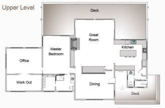 Modern Barn Home Floor Plans Bayberry First Plan