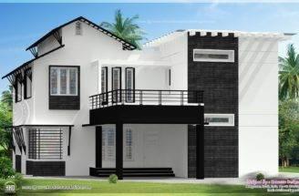 Modern Building Elevation Home