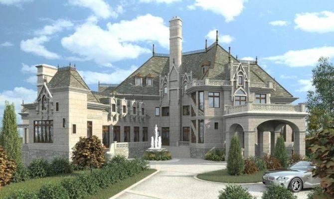 Modern Day Castle Floor Plans Home Floors Dreams Houses