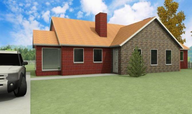 Modern Dormer Bungalow Designs Thornbury Houseplansdirect